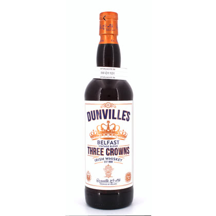 Dunville Three Crowns  43.50% 0,70l Produktbild