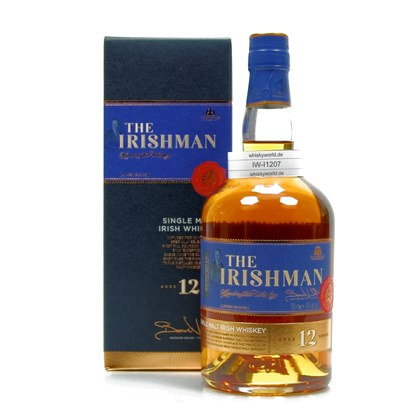 The Irishman Single Malt 12 Jahre  43.00% 0,70l Produktbild