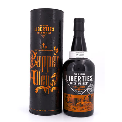 The Dublin Liberties Copper Alley 10 Jahre Single Malt Irish Whiskey 46.00% 0,70l Produktbild
