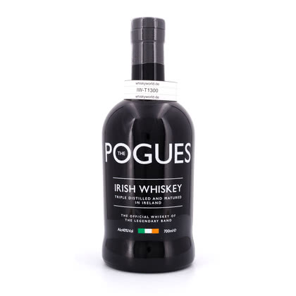 West Cork The Pogues The official Irish Whisky of the legendary Band 40.00% 0,70l Produktbild