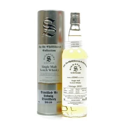 Ledaig The Un-Chillfiltered Collection Jahrgang 2010 0,70 Liter/ 46.00% Vol