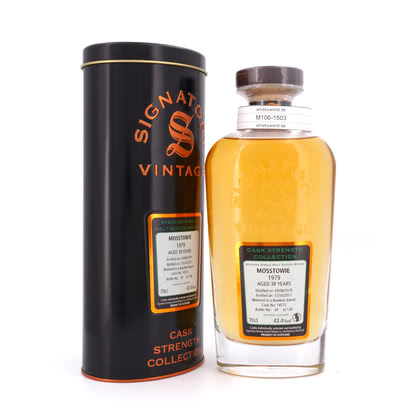 Mosstowie Cask strength Collection 38 Jahre 43.40% 0,70l Produktbild