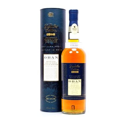 Oban Distillers Edition Montilla Fino Cask Wood finish Jahrgang 2001 0,70 Liter/ 43.00% Vol