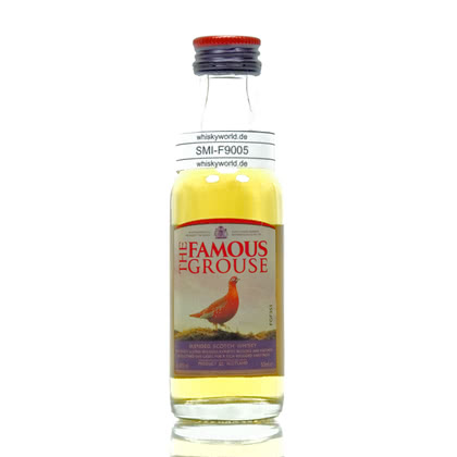 Famous Grouse Blended Scotch Whisky Miniatur 40.00% 0,050l Produktbild