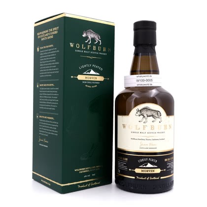Wolfburn Morven lightly peated 46.00% 0,70l Produktbild