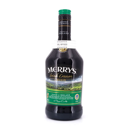 Merrys Irish Cream  17.00% 0,70l Produktbild