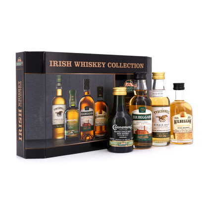 Cooley Collection II Miniaturen Kilbeggan, The Tyrconnell, Connemara & Kilbeggan 8 y.o. je 0,05l 40.00% 0,20l Produktbild