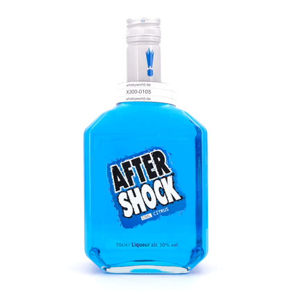 Aftershock Blue  30.00% 0,70l Produktbild