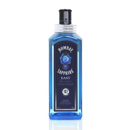 Bombay London Dry Gin Sapphire EAST Literflasche 1 Liter/ 42.00% Vol