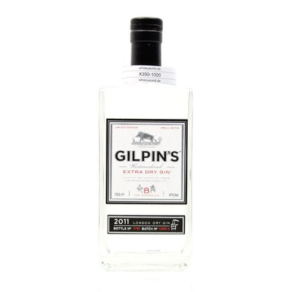 Gilpin´s Extra Dry Gin  47.00% 0,70l Produktbild