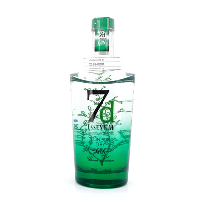 7d Essential London Dry Gin 41.00% 0,70l Produktbild