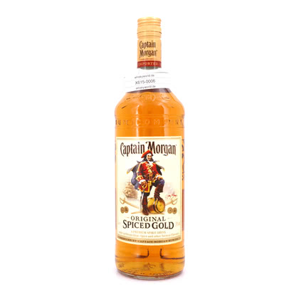 Captain Morgan Spiced Gold Literflasche 35.00% 1l Produktbild