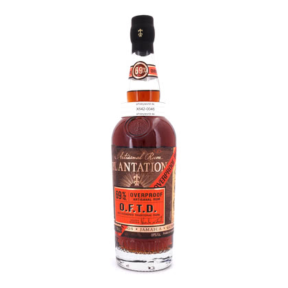 Plantation O.F.T.D. Overproof Old Fashioned Traditional Dark 69.00% 0,70l Produktbild