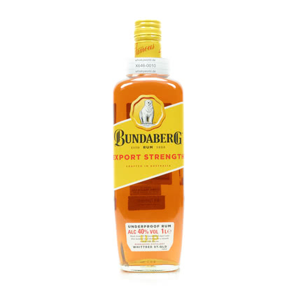 Bundaberg Export Strength Literflasche 40.00% 1l Produktbild