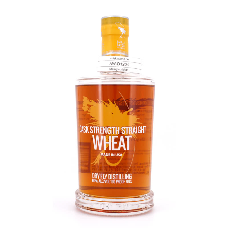 DRY FLY Cask Strength Straight Wheat 0,70 L/ 60.00%