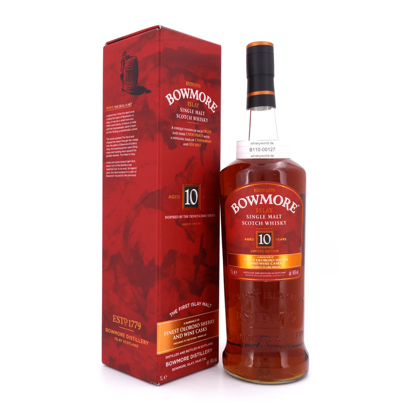 10 Jahre Inspired by Devils Casks Finest Oloroso Sherry And Wine 1 L/ 46.00%´