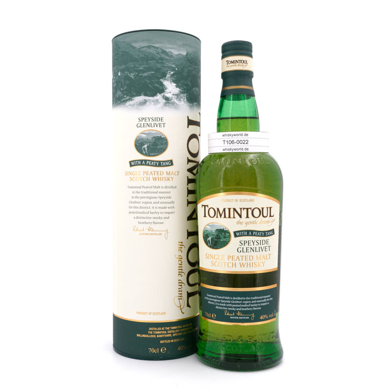 With a Peaty Tang 0,70 L/ 40.00%