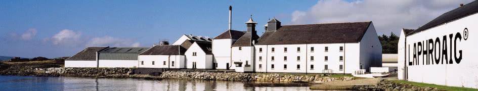 Die Laphroaig Destillerie